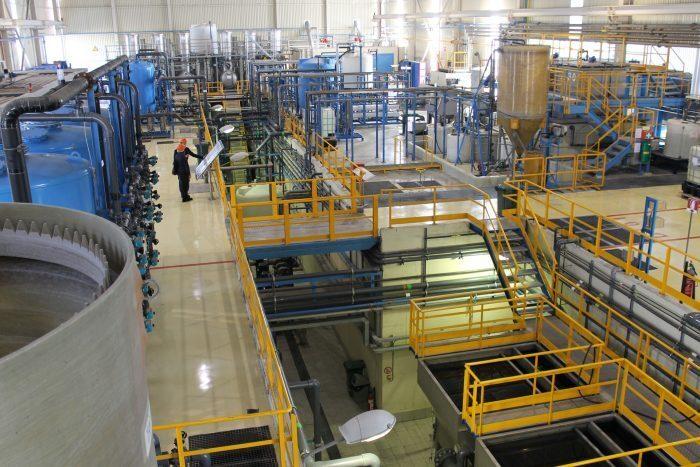 ion exchange treatment plants